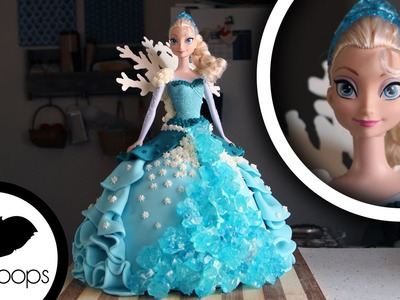 How to Make a 'Frozen' Elsa Cake | Become a Baking Rockstar