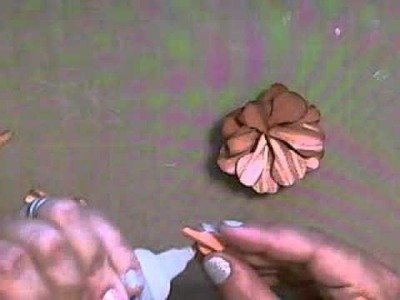 How to make a Paper Rose using McGill Paper Blossom punches