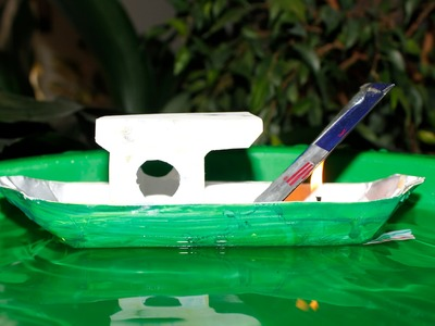 How to make a Pop Pop Boat