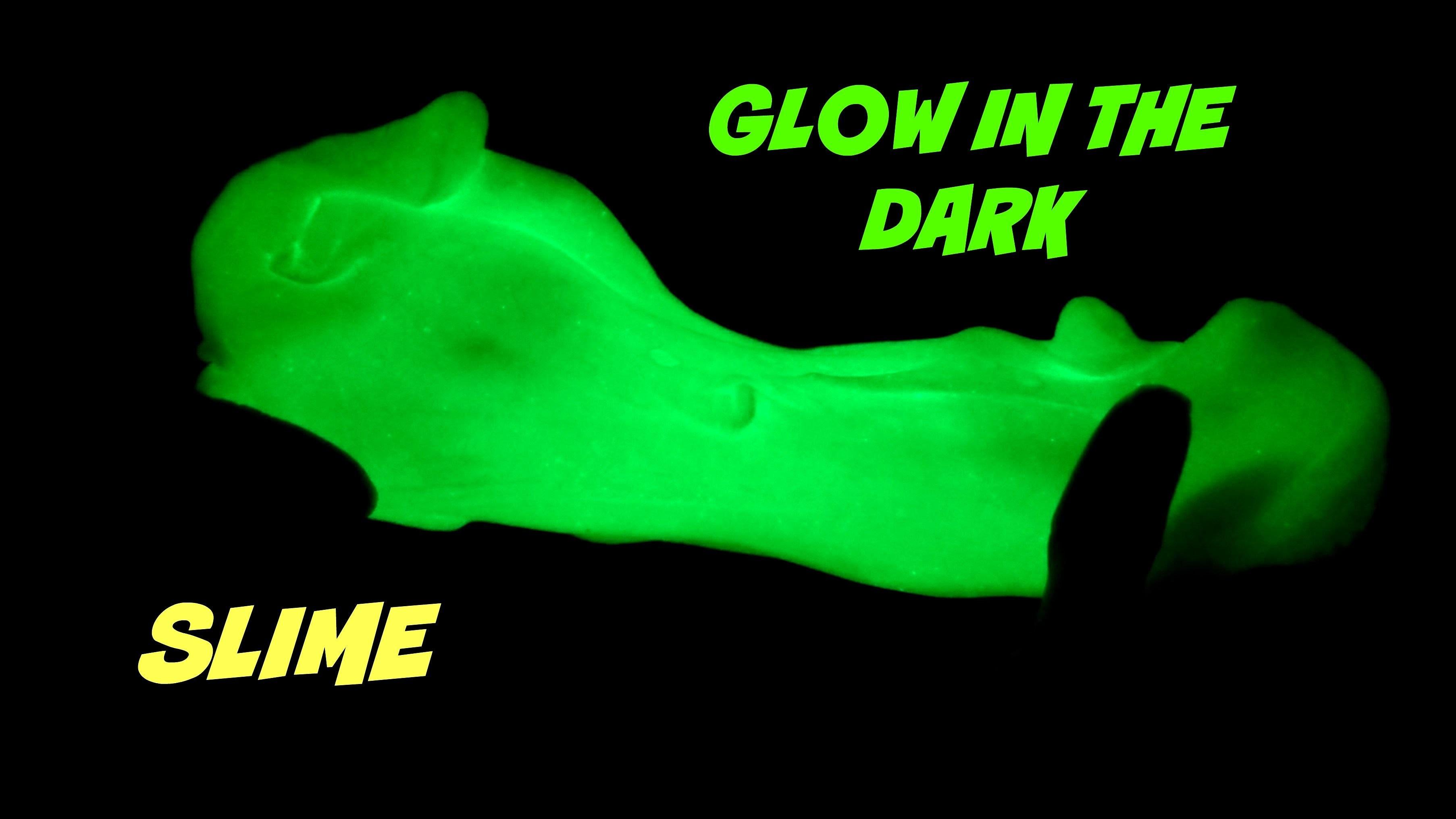 glow in the dark slime - HD3612×2032