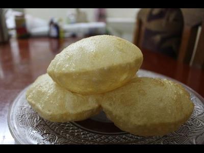 How to make puri. poori recipe - Soft fluffy poori tips