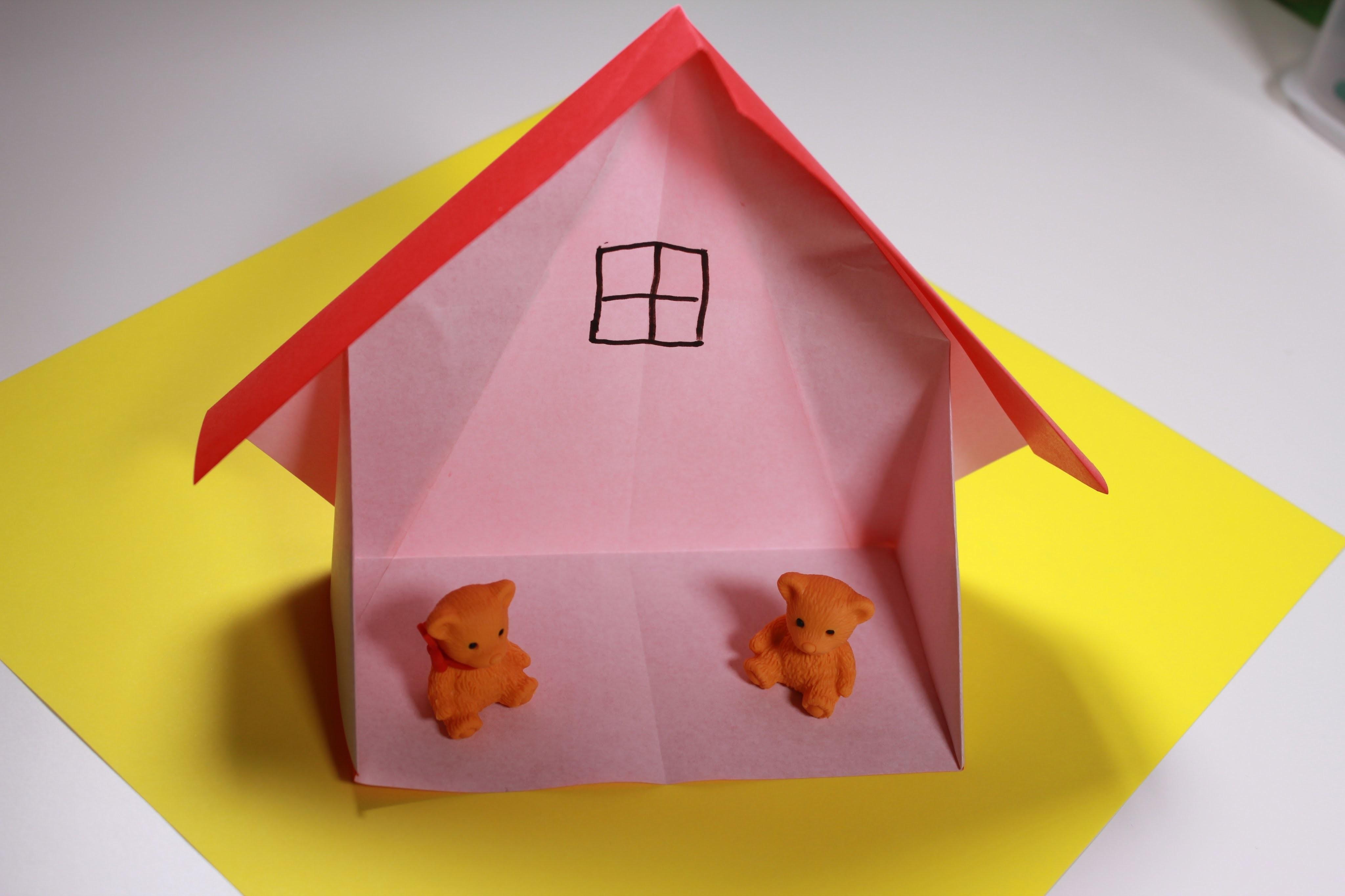 картинки домик оригами пирата существует