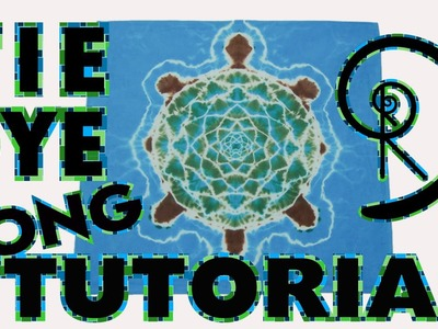 How To Tie Dye a Turtle [Long Tutorial + Variations]