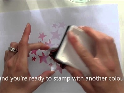 How to use and clean your rubber stamps