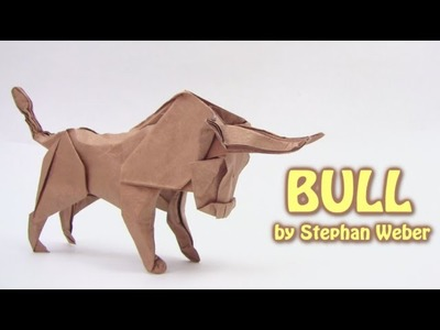Origami BULL by Stephan Weber (part 1 of 2) - Yakomoga Origami tutorial