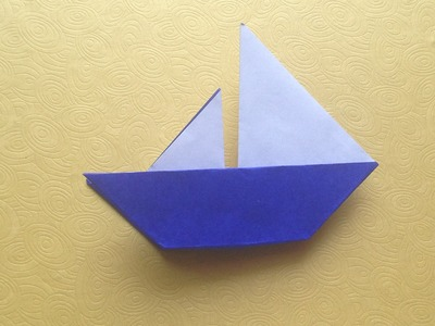 Origami Easy Boat Origami For Beginner