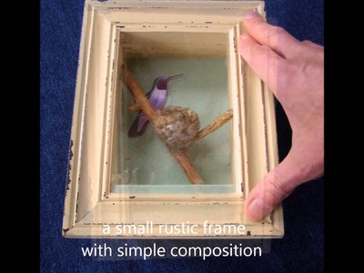 Quick and Easy - Frame and Display it