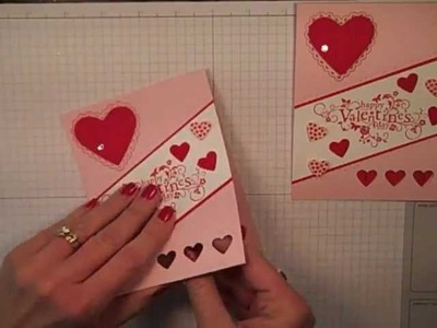 Simply Simple FLASH CARD 2.0 - Happy Valentine's by Connie Stewart