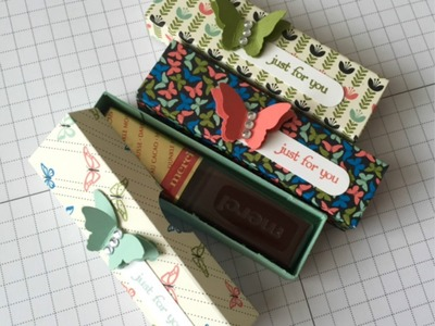 Stampin' Up! Teeny Tiny Just For You Treat Box