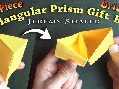 Triangular Prism Gift Box
