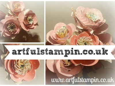 {Wild Rose Pen Tutorial} by Ruth Trice Stampin' Up! demonstrator