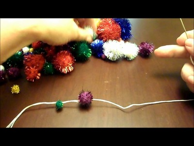 12 DIY Days of Christmas 3 Pom Pom Garland & Ornaments