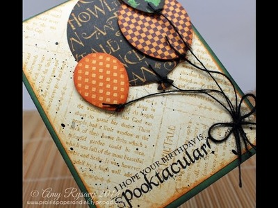 AmyR's Cardmaking Halloween Series #6 2014