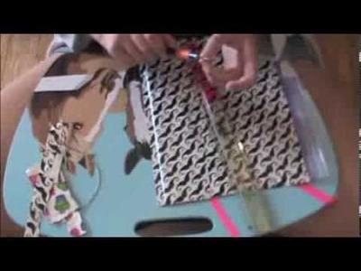 Back2School: DIY Duct Tape Pencil Case and Sparkler Pen!