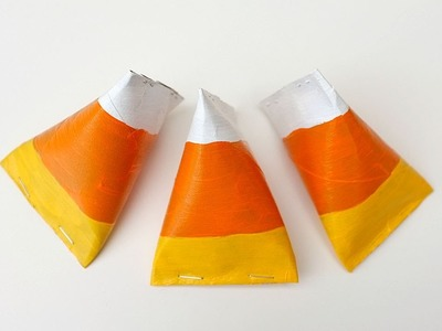 Candy Corn Treat Boxes for Halloween & Thanks Giving