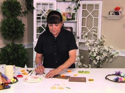 Designing in Susan's Garden with Sizzix Zinnia Flower Set