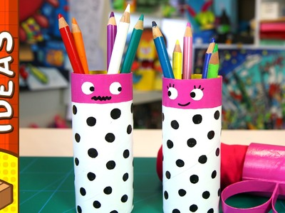 DIY Gift Box - Pencil Couple | Craft Ideas For Kids on Box Yourself