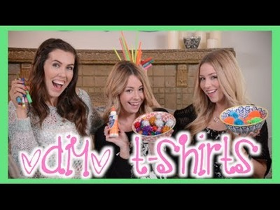 How NOT to DIY T-Shirts ft. BrittaniLouiseTaylor!! | eleventhgorgeous