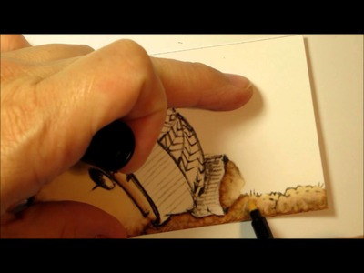 How to Color Teddy Bo with Promarkers