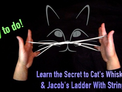 How To Do Cat's Whiskers   And Jacob's Ladder With String   Hands Nose Everything