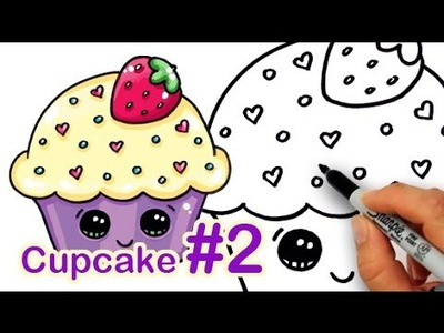 How to Draw a Cutie Cupcake #2