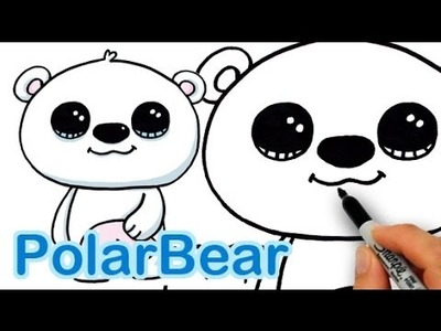 How to Draw a Polar Bear Cute and Easy
