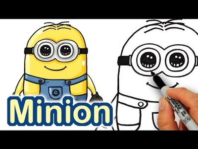 How to Draw Minions step by step Cute