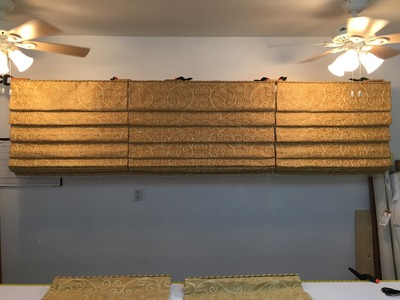 How To Make A Hobbled Roman Shade (Part 4 of 6)