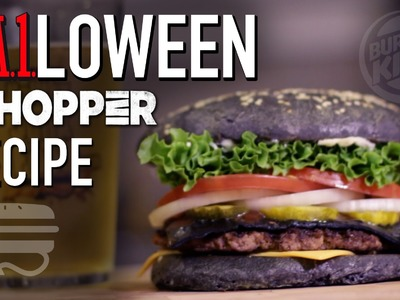 HOW TO MAKE Burger King  |  A.1. Halloween Whopper Copycat Recipe  |  HellthyJunkFood
