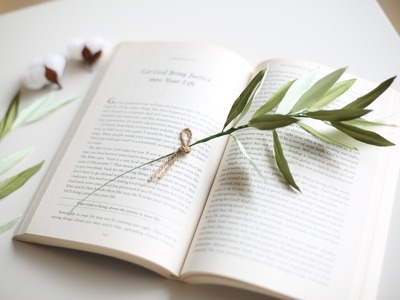 How to make Crepe paper flowers : Olive leaves [easy tutorial] madebymade