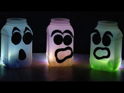 How to Make Home made Glow in the Dark Ghosts