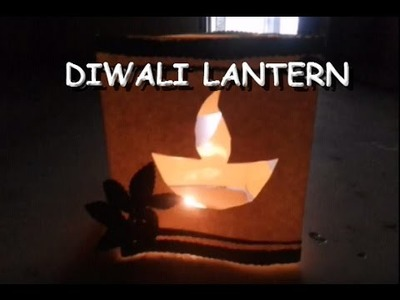 Make Beautiful  Diwali Diya lantern At Home