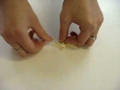 Origami Sticky Notes - Squirrel How-to