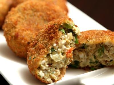 Paneer Cutlet | Easy Starter. Snack Recipe | Ruchi's Kitchen