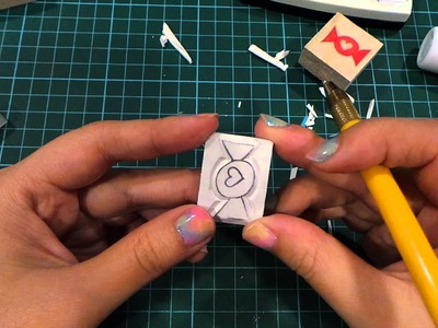 Rubber Stamp Carving Tutorial For Beginners
