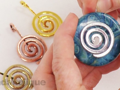Show and Tell: Bails for Gemstone Donuts and Other Pendants