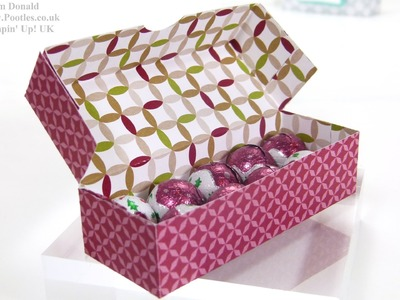 Stampin' Up! UK Advent Countdown 9 Sweetie Treat Box