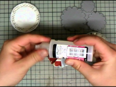 Stamping & More #24 - Create your own paperflowers Part I