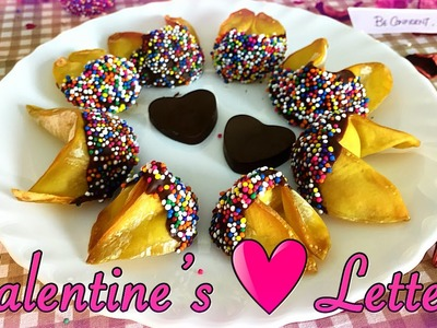 Valentine's Love Letters Recipe (Only 4 Ingredients)