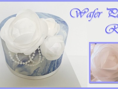 Wafer Paper Roses | Mother's Day Collaboartion from Creative Cakes by Sharon