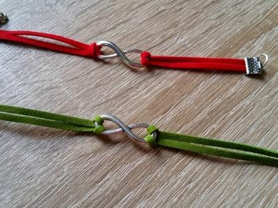 DIY : Bracelet Infinity. Bracelet signe de l'infinie