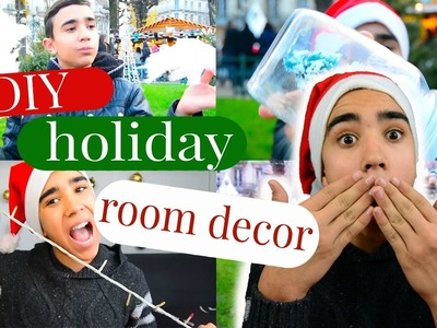 DIY Chistmas Room Decor l JustJonathan