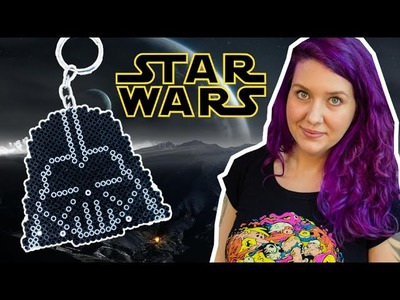 DIY Pixel Art: Como Fazer Chaveiro do Darth Vader (Star Wars)