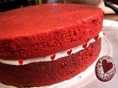 Eggless Red Velvet Cake Recipe Video Recipe by Bhavna