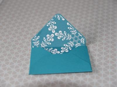 Envelope Punch Board Gift - Card Holder