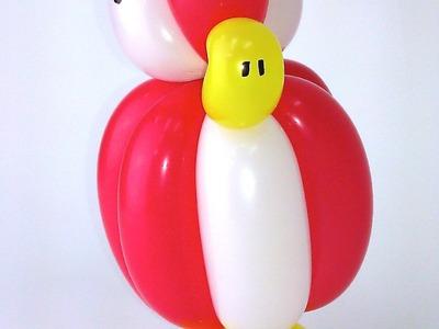 How To Make A Balloon Angry Bird - Balloon Animals Palm Beach