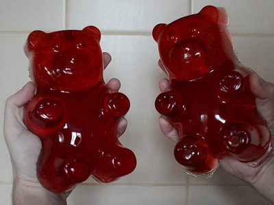 How to make a giant gummy bear - Homemade Giant Gummy Bear