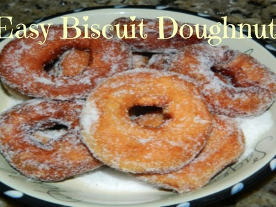 How to Make Easy Doughnuts with Pillsbury Biscuit Dough Recipe