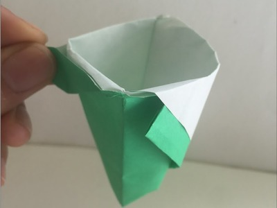 (ORIGAMI) How to make a Teacup