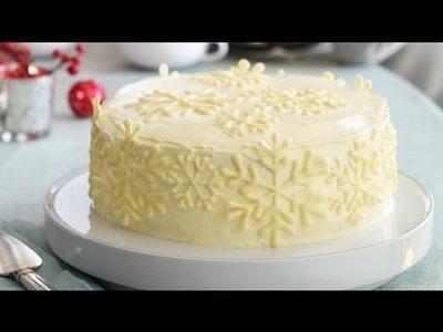 Vanilla Snowflake Cake Recipe